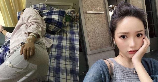 """Trần Thanh (phải), một """"hot girl"""" nổi tiếng trên mạng xã hội và nạn nhân bị cô tấn công trên đường (trái)"""