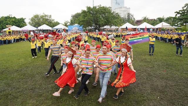Ngày hội văn hóa từ lâu đã trở thành một trong những sự kiện lớn nhất trong năm của PNJ