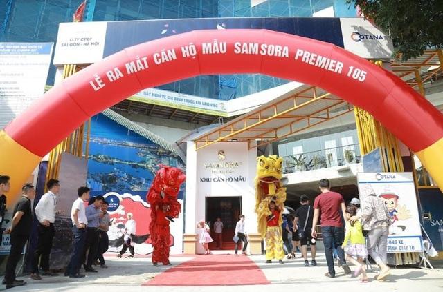 Samsora Premier 105 hút khách ngày ra mắt căn hộ mẫu - 1
