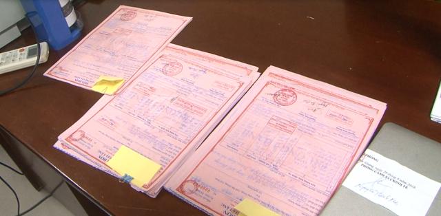 Rất nhiều hóa đơn mua bán trái phép đã bị công an Bắc Giang điều tra làm rõ