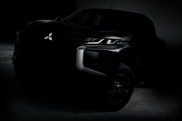 Mitsubishi hé lộ hình ảnh Triton mới - 1