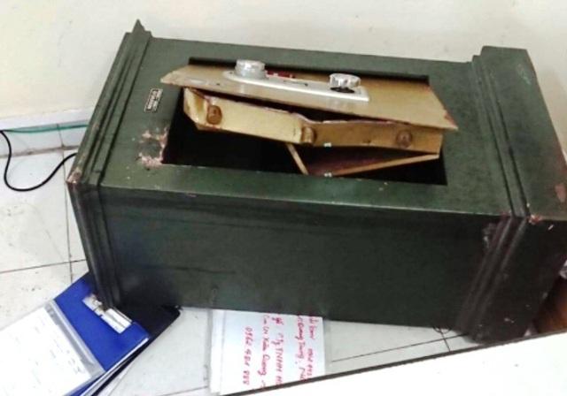 Két sắt của Công ty TNHH Hưng Cúc bị phá.