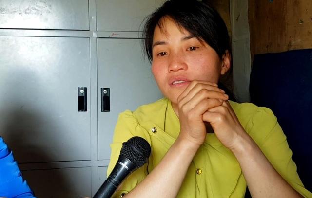 Cô giáo Lưu Thị Hằng (28 tuổi).