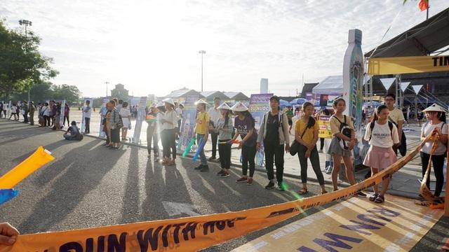 Cuộc thi đem lại nhiều niềm vui cho người dân Huế và khách du lịch
