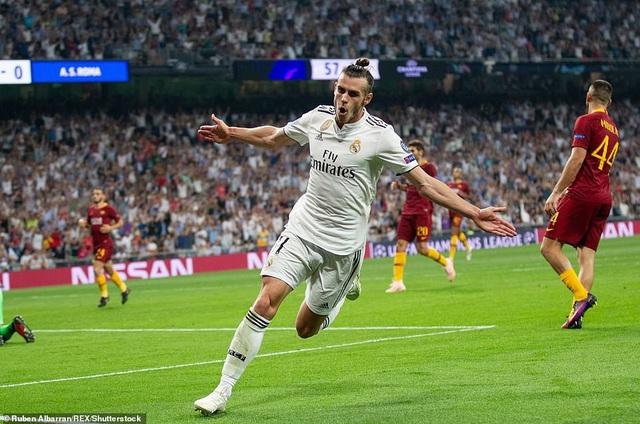 Bale nâng tỷ số lên 2-0 ở phút 58