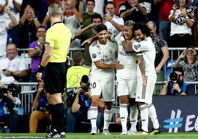 Asensio cùng Mariano để lại dấu ấn khi được tung vào sân