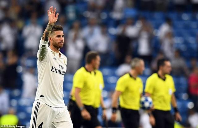 Thủ quân Ramos của Real Madrid