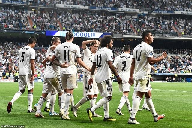 Real Madrid đã thể hiện được bản lĩnh của nhà đương kim vô địch Champions League