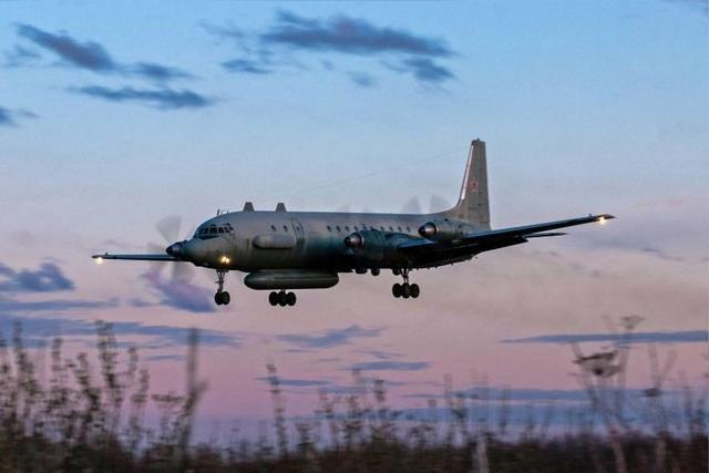 Một máy bay quân sự Il-20 của Nga (Ảnh minh họa: AFP)