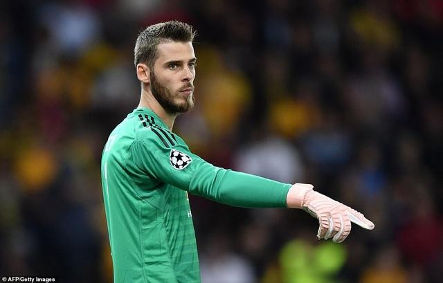 De Gea vẫn là chốt chặn đáng tin cậy của Man Utd nơi khung gõ, thủ thành người Tây Ban Nha không cho các chân sút của Young Boys cơ hội ghi bàn