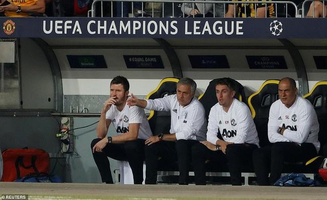 Ban huấn luyện của Man Utd