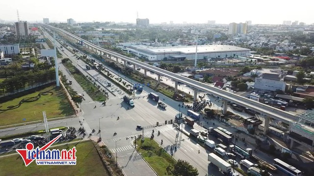 Tuyến metro số 1 Bến Thành - Suối Tiên.