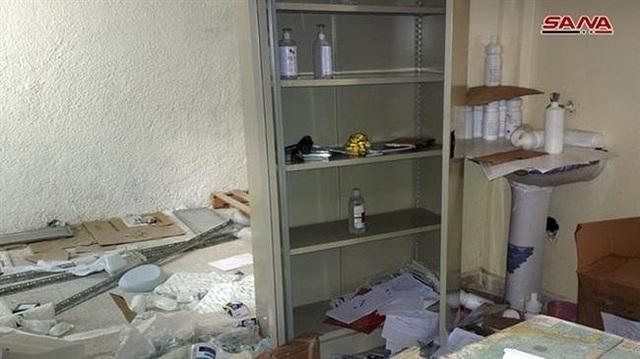 Bệnh viện có tủ thuốc và kho thuốc do Israel sản xuất