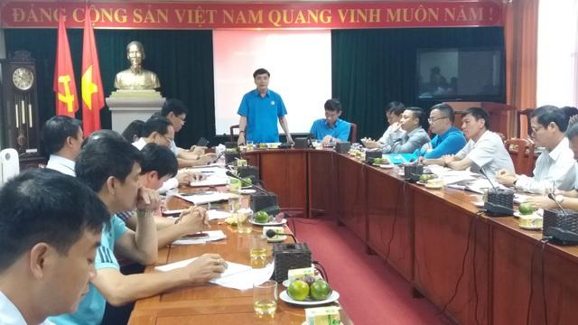 Chủ tịch Tổng LĐLĐ VN Bùi Văn Cường công bố thông tin về Đại hội Công đoàn VN lần thứ 12 tới báo giới.