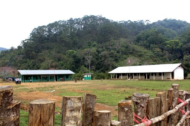 Ngôi trường Tiểu học bản Panon