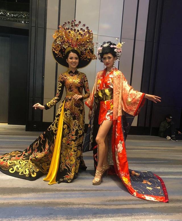Thúy Vi đoạt giải trang phục truyền thống đẹp nhất tại Miss Asia Pacific International - 2