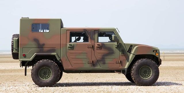 KLTV - Dòng xe tác chiến ít được biết đến của Kia - 8