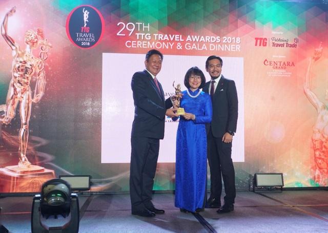 Hãng lữ hành Việt 7 lần đạt giải thưởng TTG Travel Awards - 1