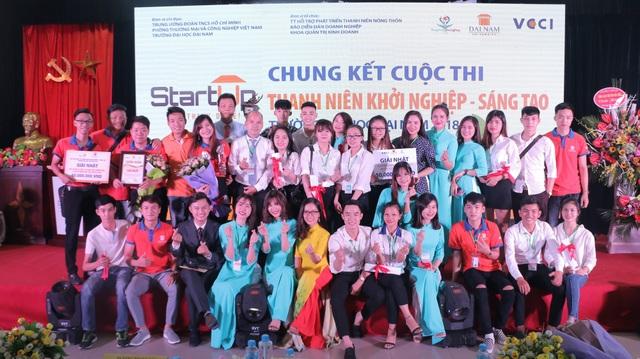 Cuộc thi Thanh niên khởi nghiệp sáng tạo – ĐH Đại Nam 2018 vừa diễn ra thành công tốt đẹp tại Trường ĐH Đại Nam tối 19/9/2018