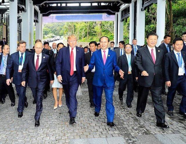 Tháng 11/2017, Chủ tịch nước Trần Đại Quang chủ trì Tuần lễ cấp cao Diễn đàn hợp tác kinh tế châu Á – Thái Bình Dương 2017 (APEC) do Việt Nam đăng cai tổ chức. Lãnh đạo Việt Nam và lãnh đạo các nền kinh tế lớn nhất thế giới đã có những cuộc họp bàn quan trọng tại Đà Nẵng.