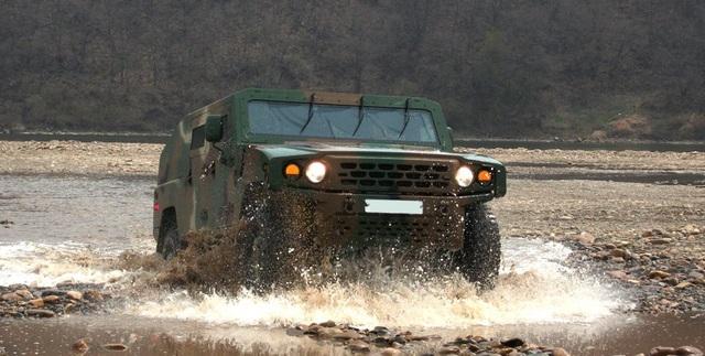 KLTV - Dòng xe tác chiến ít được biết đến của Kia - 6