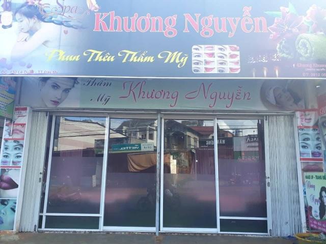 Spa Khương Nguyễn nơi xảy ra vụ việc