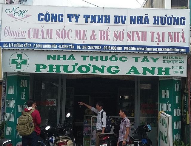Trụ sở của Công ty Nhã Hương tại phường Bình Hưng Hòa, Bình Tân