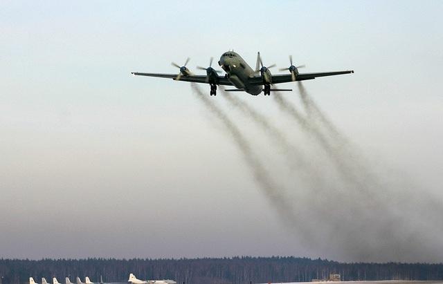 Máy bay Il-20 (Ảnh: TASS)