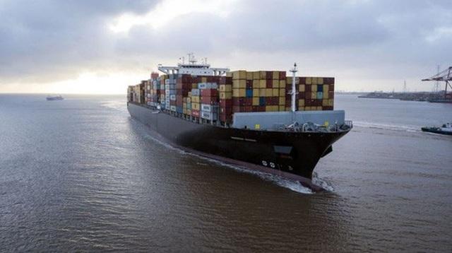 Một tàu chở hàng từ Trung Quốc. Ảnh: Bloomberg
