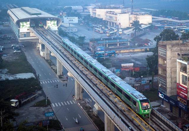 Sự kiện đoàn tàu trên cao tuyến Cát Linh - Hà Đông được đánh giá là tín hiệu tốt cho bất động sản khu vực phía Tây Hà Nội (ảnh minh họa)