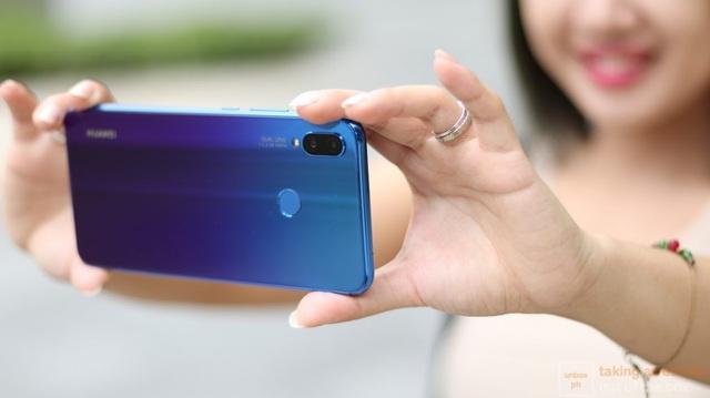 Huawei tiên phong trong việc trang bị 4 camera AI trên smartphone với Nova 3i