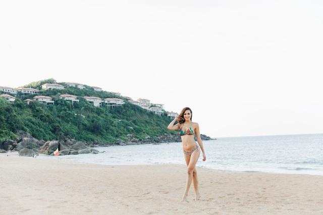 """Khoe vòng 1 bốc lửa với bikini, Phương Mai tiết lộ lý do vẫn """"phòng không"""" - 6"""
