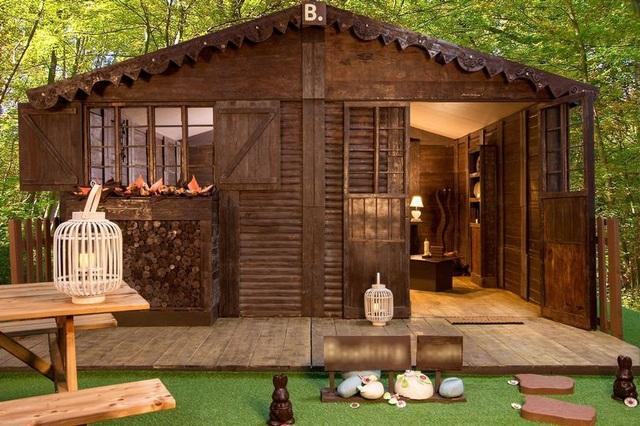 Giá thuê căn nhà sôcôla này là 50 euro/đêm (tương đương hơn 1,3 triệu/đêm).