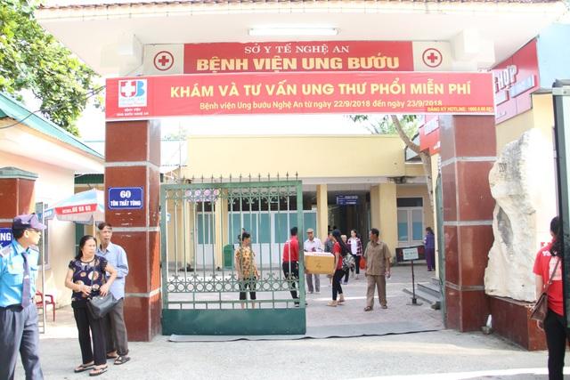 Đây là năm thứ 2 bệnh viện tổ chức khám miễn phí cho người dân để phát hiện bệnh hiểm nghèo.