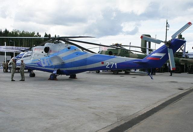 Mi-PVS là mẫu trực thăng tốc độ cao thử nghiệm của Nga và được phát triển dựa trên mẫu trực thăng Mi-24. Một phiên bản Mi-24LL PVS có thể bay với tốc độ 405km/giờ trong các cuộc thử nghiệm gần đây.