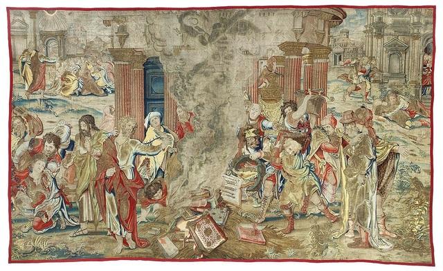 Giới chuyên gia tại Anh coi việc tìm thấy lại tấm thảm thêu này là một sự kiện quan trọng.