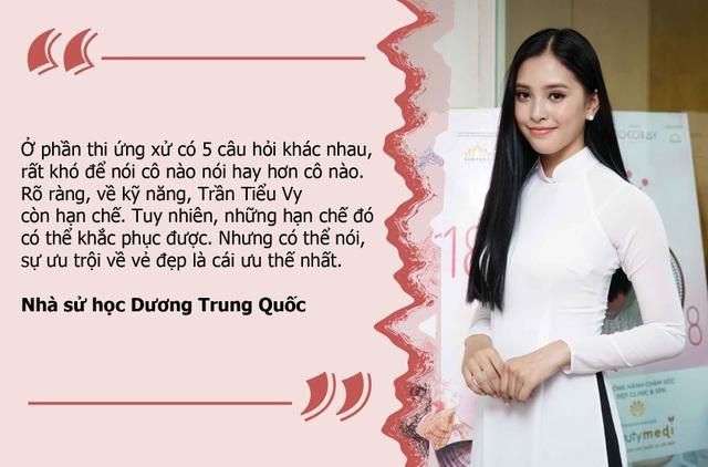 """""""Tân hoa hậu Việt Nam còn nhiều hạn chế nhưng có thể khắc phục được"""""""