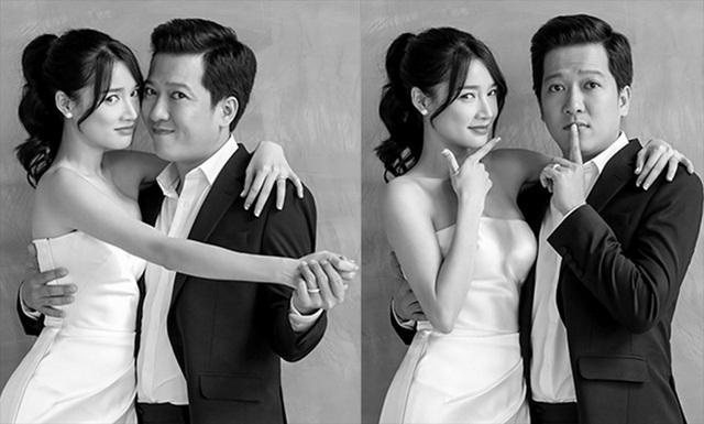 Cặp đôi còn thể hiện nhiều tâm trạng, cảm xúc trong bộ ảnh cưới của mình