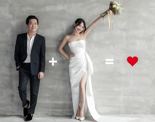 """Trải qua không ít khó khăn trước khi về chung nhà, Trường Giang và Nhã Phương cũng được xem là cặp đôi nhiều """"gian nan"""" nhất khi quyết định đi đến hôn nhân."""
