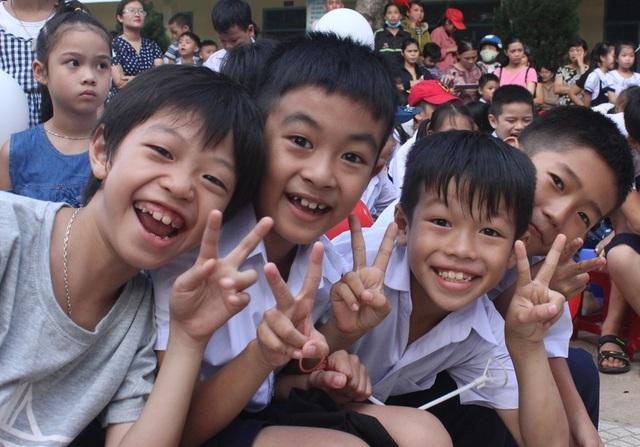Các em học sinh ở xã miền núi của Đà Nẵng đã có một Tết Trung thu vui và ấm áp