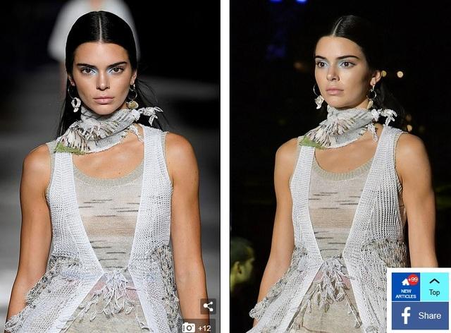 Em cô Kim - Kendall Jenner phủ sóng tuần lễ thời trang Milan