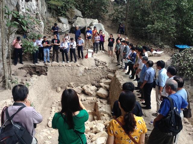Mái đá Ngườm (ảnh: Viện Khảo cổ học)