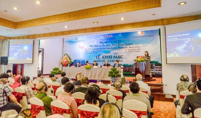 Khai mạc Đại hội lần thứ 21 Hội tiền sử Ấn Độ - Thái Bình Dương tại TP Huế sáng 23/9