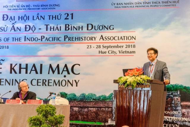 TS. Phan Thanh Hải, Tân Chủ tịch Hội tiền sử Ấn Độ - Thái Bình Dương (IPPA), Giám đốc Trung tâm Bảo tồn Di tích Cố đô Huế cho hay qua sự kiện quan trọng này cố đô Huế sẽ thu hút được sự quan tâm của các nhà khoa học trên góc độ khảo cổ học
