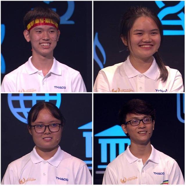 4 thí sinh cuộc thi Tuần 3 Tháng 1 Quý 1 Olympia 19