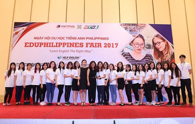 EduPhilippines 2017 thu hút hơn 300 lượt khách tham dự.