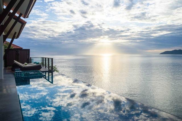 Biệt thự Banyan Tree Residences Lăng Cô với tầm nhìn ngoạn mục hướng thẳng ra biển xanh