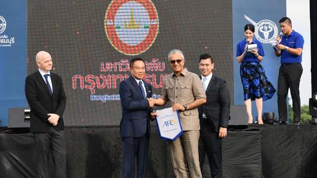 LĐBĐ nước này nhận được sự hỗ trợ tuyệt vời từ AFC