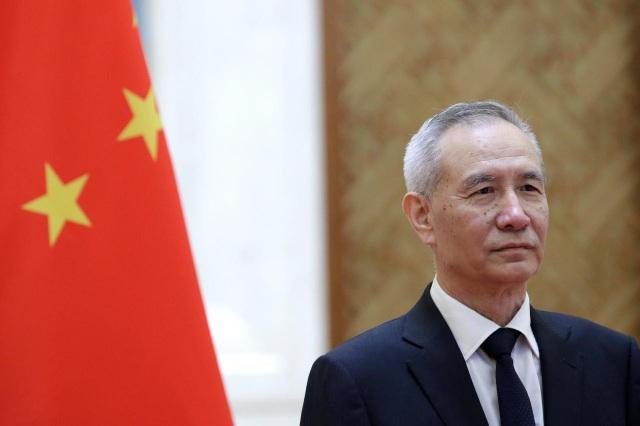 Phó Thủ tướng Trung Quốc Lưu Hạc (Ảnh: Reuters)