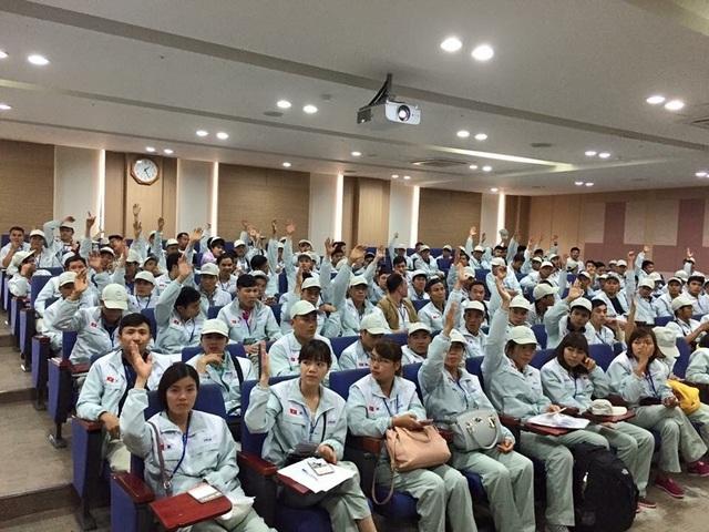 Gần 1.000 lao động Việt Nam cư trú bất hợp pháp ở Hàn Quốc hồi hương - 1